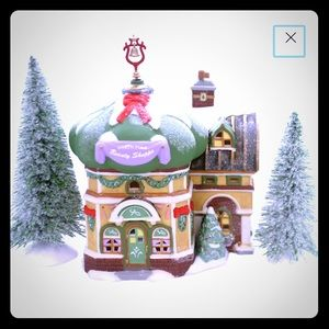Dept 56 North Pole Elfland Beauty Shop